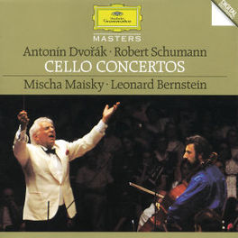 CELLO CONCERTS -MAISKY/ISRAEL PHILHARMONIC/LEONARD BERNSTEIN Audio CD, DVORAK/SCHUMANN, Audio Visuele Media