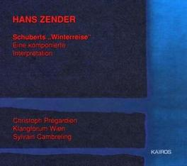DIE WINTERREISE KLANGFORUM WIEN/HANS ZENDER Audio CD, F. SCHUBERT, CD