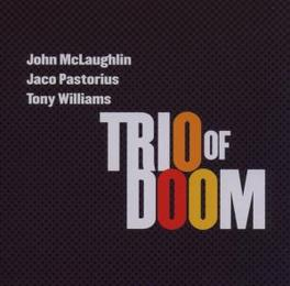 TRIO OF DOOM PASTORIUS & WILLIAMS Audio CD, TRIO OF DOOM, CD