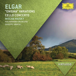CELLO CONCERTO/ENIGMA VAR PHILHARMONIA ORCHESTRA/GIUSEPPE SINOPOLI E. ELGAR, Audio Visuele Media