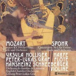 WORKS LAUSANNE CHAMBER ORCH./PETER-LUKAS GRAF MOZART/SPOHR, CD