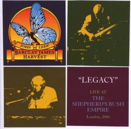 LEGACY-LIVE AT SHEPERD'S JOHN LEES' BARCLAY JAMES HARVEST Audio CD, BARCLAY JAMES HARVEST, CD