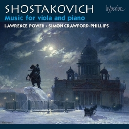 MUSIC FOR VIOLA & PIANO POWER/CRAWFORD-PHILLIPS D. SHOSTAKOVICH, CD