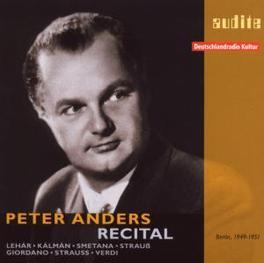 IN RECITAL Audio CD, PETER ANDERS, CD