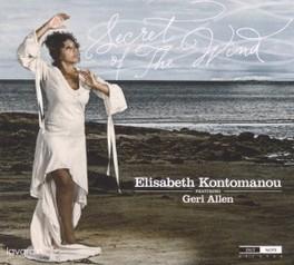 SECRET OF THE WIND ELISABETH KONTOMANOU, CD