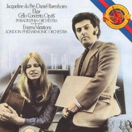 CELLO CONCERTO/ENIGMA VAR -JACQUELINE DU PRE/DANIEL BARENBOIM/PHILADELPHIA ORCH./ Audio CD, E. ELGAR, CD
