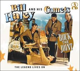 LEGEND LIVES ON Audio CD, HALEY, BILL & HIS COMETS, CD