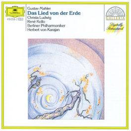 DAS LIED VON DER ERDE LUDWIG/KOLLO/BP/KARAJAN Audio CD, G. MAHLER, CD