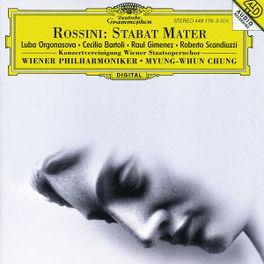 STABAT MATER VIENNA P.O./M.W. CHUNG/ORGONASOVA/BARTOLI/A.O. Audio CD, G. ROSSINI, CD