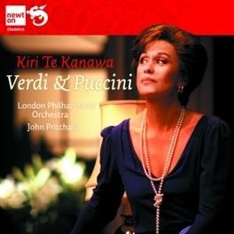 OPERATIC LONDON PHILHARMONIC ORCHESTRA/KIRI TE KANAWA VERDI/PUCCINI, CD