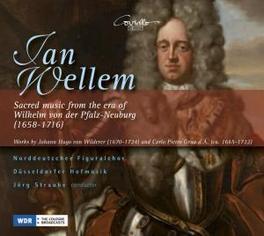 SACRED MUSIC FROM THE ERA NORDDEUTSCHE FIGURALCHOR, NEUE DUSSELDORF HOFMUSIK Audio CD, J.H. VON WILDERER, CD