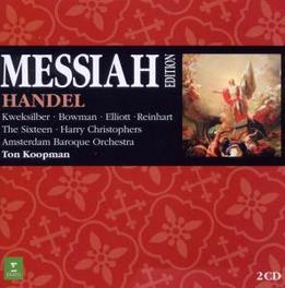 MESSIAH AMSTERDAM BAROQUE/TON KOOPMAN Audio CD, G.F. HANDEL, CD