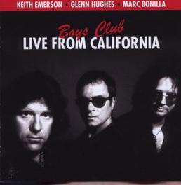 BOYS CLUB LIVE FROM.. .. CALIFORNIA Audio CD, EMERSON, KEITH & GLENN HU, CD
