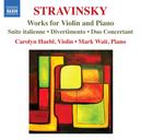 WORKS FOR VIOLIN & PIANO CAROLYN HUEBI/MARK WAIT