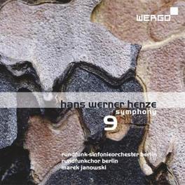 SINFONIA NO.9 RSO BERLIN/RUNDFUNKCHOR BERLIN Audio CD, H.W. HENZE, CD
