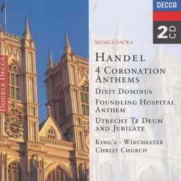 4 CORONATION ANTHEMS WILLCOCKS/CLEOBURY/HILL/PRESTON Audio CD, G.F. HANDEL, CD