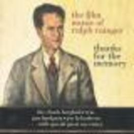 THANKS FOR THE MEMORY -.. ..FILM MUSIC OF RALPH RAINGE Audio CD, BERGHOFER, CHUCK -TRIO-, CD