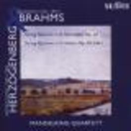 STRING QUARTETS MANDELRING QUARTET Audio CD, HERZOGENBERG/BRAHMS, CD