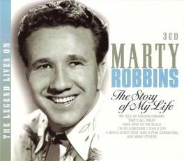 LEGEND LIVES ON - STORY.. .. OF MY LIFE Audio CD, MARTY ROBBINS, CD