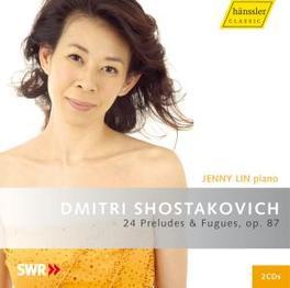24 PRELUDES & FUGUES.. JENNY LIN-PIANO Audio CD, D. SCHOSTAKOVICH, CD