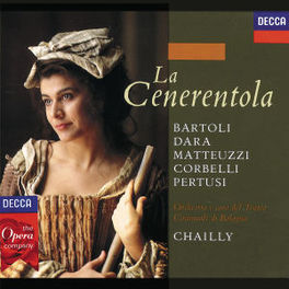 LA CENERENTOLA BARTOLI/DARA/CHAILLY Audio CD, G. ROSSINI, CD