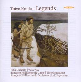 FINNISH LEGENDS TAMPERE P.O./LEIF SEGERSTAM Audio CD, T. KUULA, CD