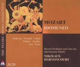 IDOMENEO NIKOLAUS HARNONCOURT Audio CD, W.A. MOZART, CD
