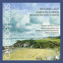 SYMPHONY G MINOR/PIANO.. .. CONCERTO F M//GROSS/TOSCHMAKOW/BRANDENBURGISCHES Audio CD, E. LALO, CD