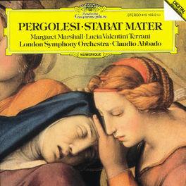 STABAT MATER MARSHALL/LSO/ABBADO Audio CD, G.B. PERGOLESI, CD