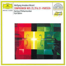 SYMPHONIES NO.25,29,31 W/KARL BOHN, BERLINER PHILHARMONIKER Audio CD, W.A. MOZART, CD