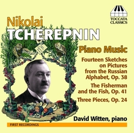 PIANO MUSIC DAVID WITTEN N. TSCHEREPNIN, CD