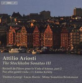 DIE STOCKHOLM-SONATEN 3 KIRKBY/GEORGI/HARRIS/BRINKMANN Audio CD, A. ARIOSTI, CD