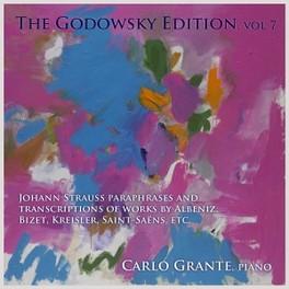 GODOWSKY EDITION VOL.7 WORKS BY ALBENIZ/BIZET/BOHM CARLOS GRANTE, CD