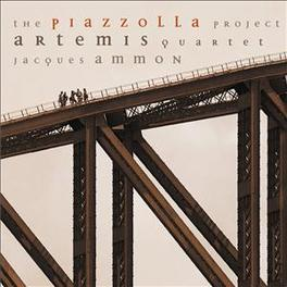PIAZZOLLA PROJECT JACQUES AMMON Audio CD, ARTEMIS QUARTET, CD
