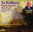 PIANO SONATAS NO.9 & 11 SVIATOSLAV RICHTER