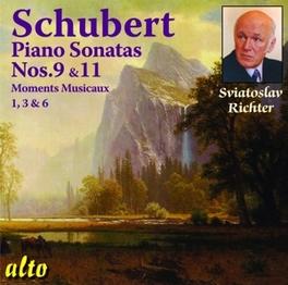 PIANO SONATAS NO.9 & 11 SVIATOSLAV RICHTER F. SCHUBERT, CD