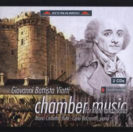CHAMBER MUSIC FOR FLUTE & MARIO CARBOTTA, CARLO BALZARETTI Audio CD, G.B. VIOTTI, CD