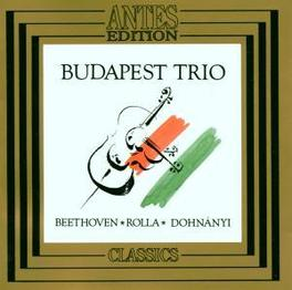 SERENADE OP 8 BUDAPEST TRIO Audio CD, BEETHOVEN/ROLLA/DOHNANYI, CD