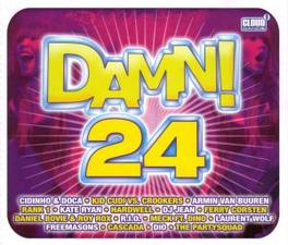 DAMN! 24 Audio CD, V/A, CD