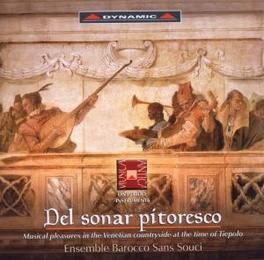 DEL SONAR PITORESCO GIUSEPPE NALIN Audio CD, ENSEMBLE BAROCCO SANS SOU, CD