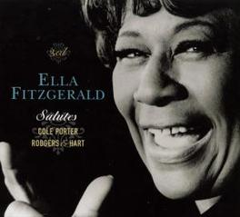 SALUTES COLE PORTER... ...AND ROGERS & HART Audio CD, ELLA FITZGERALD, CD