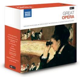 GREAT OPERA DON GIOVANNI/LA TRAVIATA/AIDA/LA BOHEME/TOSCA/CARMEN... V/A, CD