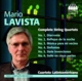 COMPLETE STRING QUARTETS CUARTETO LATINOAMERICANO M. LAVISTA, CD