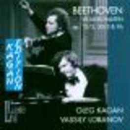 SONATAS FOR PIANO & VIOLI Audio CD, L. VAN BEETHOVEN, CD