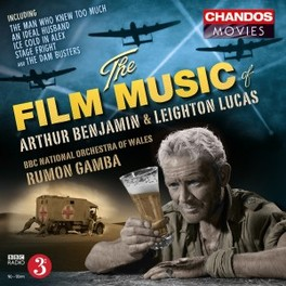 FILM MUSIC OF BBC NAT.ORCHESTRA OF WALES/RUMON GAMBA BENJAMIN/LUCAS, CD