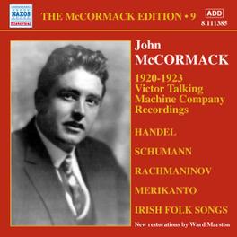 VICTOR TALKING MACHINE WARD MARSTON J. MCCORMACK, CD