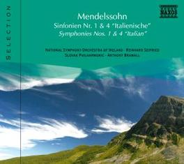 SYMPHONIES NO.1 & 4 MENDELSSOHN-BARTHOLDY, F., CD