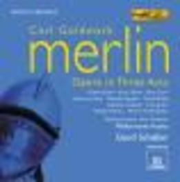 MERLIN -OPERA IN 3 ACTS- GERD SCHALLER Audio CD, C. GOLDMARK, CD