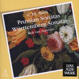 PRUSSIAN & WURTTEMBERG.. .. SONATAS/VAN ASPEREN Audio CD, C.P.E. BACH, CD