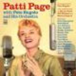 WITH PETE RUGOLO & HIS.. .. ORCHESTRA - 2 LP'S ON 1 CD Audio CD, PATTI PAGE, CD
